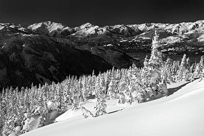Blackcomb Photograph - Whistler Mountain Winter Scenery by Pierre Leclerc Photography