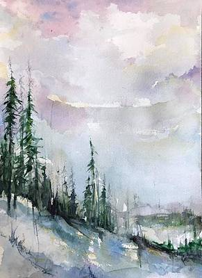 Painting - Whistler  by Robin Miller-Bookhout