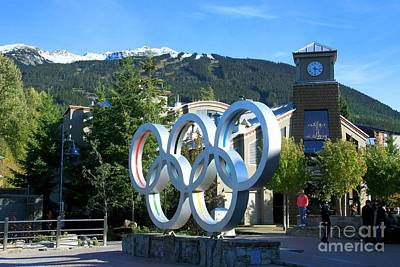 Photograph - Whistler Village by Frank Townsley