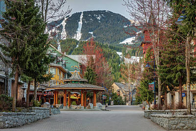 Photograph - Whistler Village Stroll In Spring by Pierre Leclerc Photography