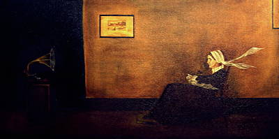 Painting - Whistler's Deaf Mother  by Ryan Darling