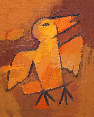 Painting - Whistling Bird by Lutz Baar
