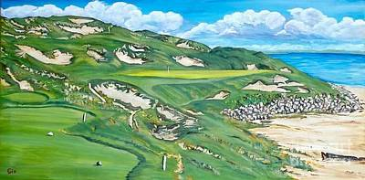 Whistling Straits Painting - Whistling Straits #7 by Frank Giordano