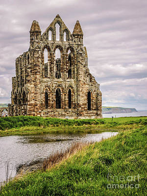 Photograph - Whitby Abbey England #2 by Lexa Harpell