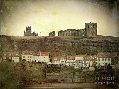 Photograph - Whitby Abbey North Yorshire by Lynn Bolt