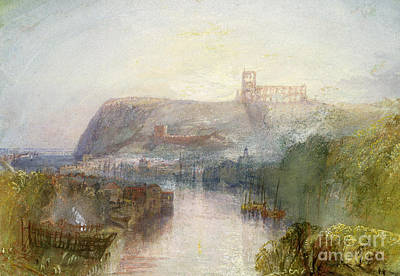 Port Town Painting - Whitby by Joseph Mallord William Turner