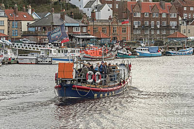 Photograph - Whitby's Old Life Boat by David  Hollingworth
