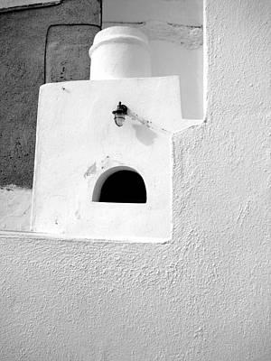 White Abstract Art Print by Ana Maria Edulescu