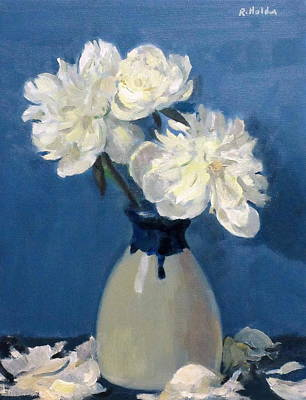 Painting - White And Blue by Robert Holden