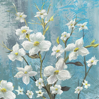 Painting - White Bloom by Anthony Christou