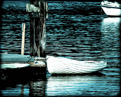 Photograph - White Boats by Ronda Broatch