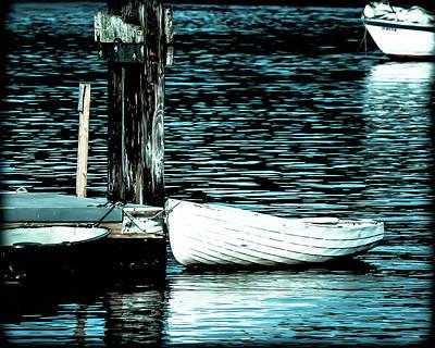 Photograph - White Boats by Ronda Broatch