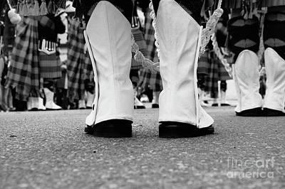 White Boots  Art Print