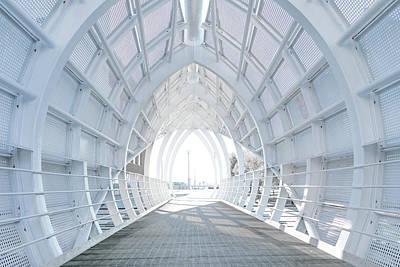White Bridge Art Print by Svetlana Sewell