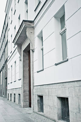 White Building Art Print