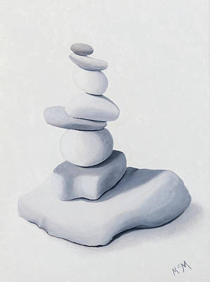 Photograph - White Cairn by Garry McMichael