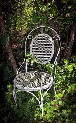 White Chair Art Print