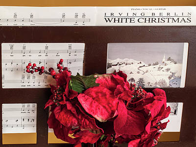 Photograph - White Christmas by Stewart Helberg