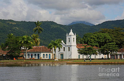 Photograph - White Church By The Bay by Nareeta Martin