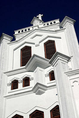 Photograph - White Church by Mary Haber