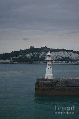 Keith Richards - White Cliffs Of Dover Lighthouse by MSVRVisual Rawshutterbug
