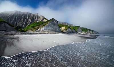 Cliffs Wall Art - Photograph - White Cliffs Of Iturup Island by Alexey Kharitonov