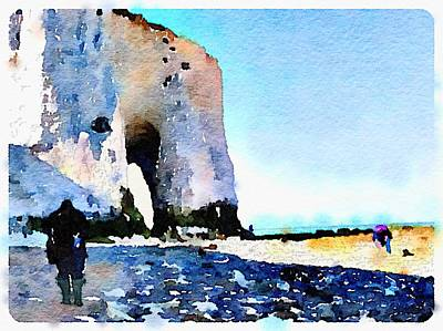 Photograph - White Cliffs by Wendy Le Ber