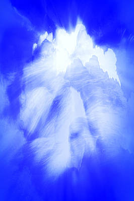 Photograph - White Cloud In Blue by Kellice Swaggerty