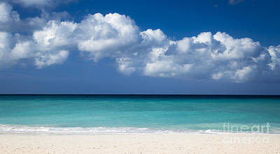 Photograph - White Clouds Over Aruba by Brian Jannsen