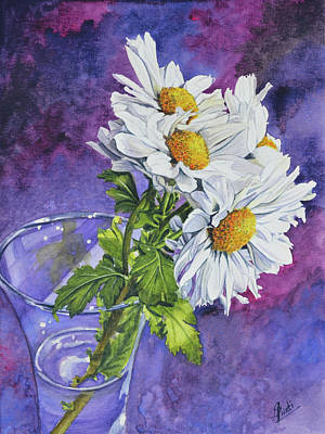 Painting - White Daisies by Swati Singh