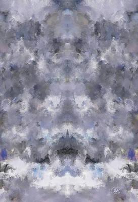 Digital Art - White Diamond 1 by Debora Nash