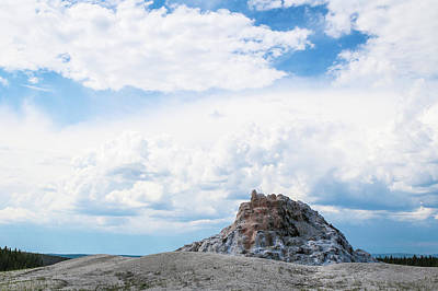 Photograph - White Dome Geyser by David Lyle