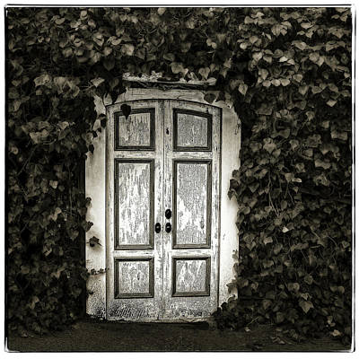 Photograph - White Door Carmel by Jerry Golab