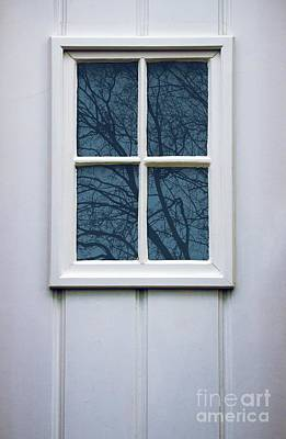 White Door Detail Art Print