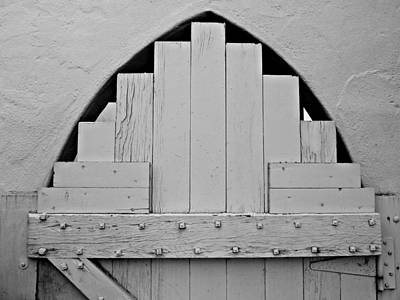 Photograph - White Door by Patricia Strand