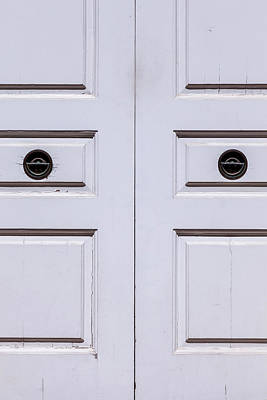 Photograph - White Doors by Robert Ullmann
