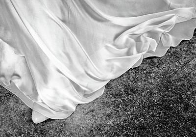 Photograph - White Dress #9936 by Andrey Godyaykin
