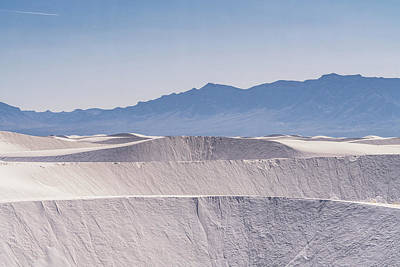 Photograph - White Dunes by Framing Places