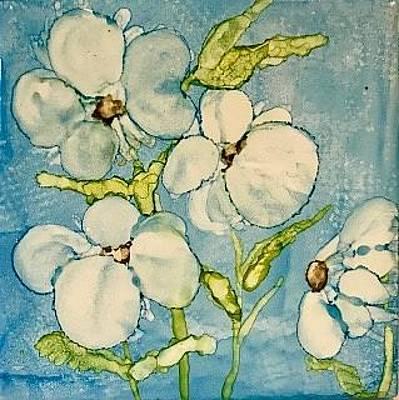 Painting - White Elegance by Brenda Owen
