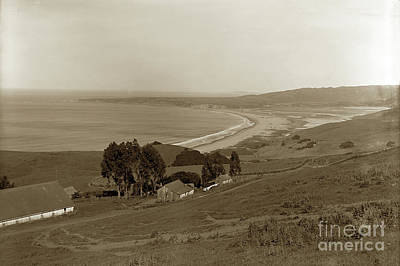 Photograph -  White Gate Ranch Overlooking Stinson Beach Marin County June 4, by California Views Mr Pat Hathaway Archives