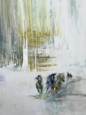 Painting - White by Heather Roddy