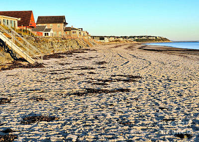 Photograph - White Horse Beach Cottages by Janice Drew