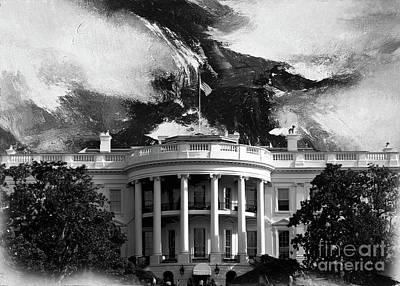 White House 002 Art Print by Gull G