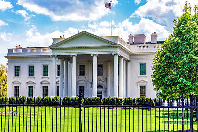 Photograph - White House by Anthony Baatz
