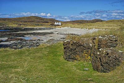 Photograph - White House Ardnamurchan by Christopher Rees