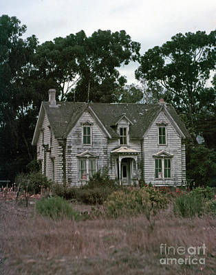 Photograph - White House Ranch It Was South Of Pescadero In San Mateo County. by California Views Mr Pat Hathaway Archives