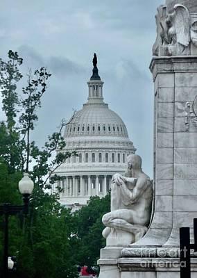 Photograph - White House Rotunda by Margie Avellino