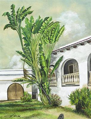 White House San Juan Art Print by George Bloise