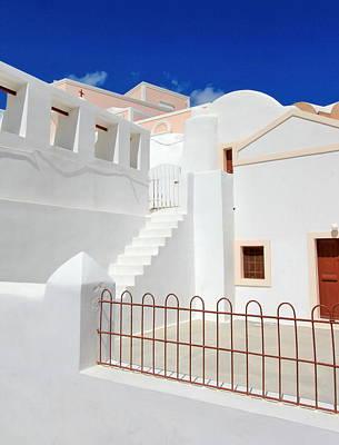 Photograph - White House, Santorini, Greece by Elenarts - Elena Duvernay photo