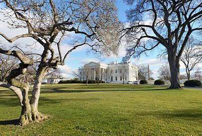 Obama Family Photograph - White House, Washington D.c. Usa by Ivan Batinic